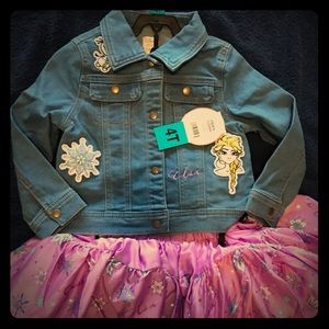 NWT Tutu Couture Frozen Outfit 4T